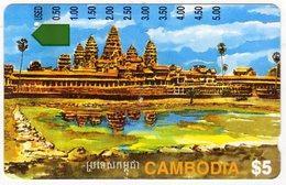 *CAMBOGIA* - Scheda Usata - Kambodscha