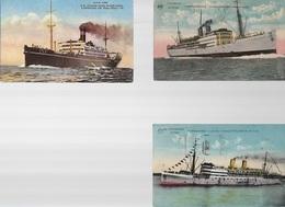 X61/ ALBERTVILLE / LEOPOLDVILLE/ EN N.Y.K.LINE SS HAKONE MARU - Handel