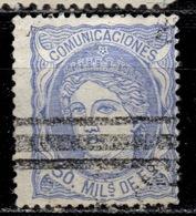 E+ Spanien 1870 Mi 101 Hispania - Used Stamps