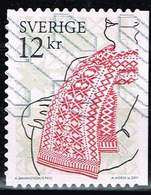 Schweden 2011,Michel# 2851 O  Clothes And Patterns - Used Stamps