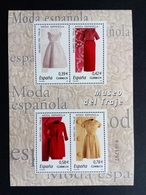 SPANIEN BLOCK 164 POSTFRISCH(MINT) SPANISCHE MODE(I) KLEIDER VON BALENCIAGA 2007 - Blocks & Kleinbögen