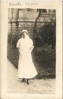 INFIRMIERE . HOPITAL MILITAIRE DU GRAND PALAIS . PARIS - Guerra 1914-18