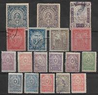 1903-10 Paraguay 18v. - Paraguay