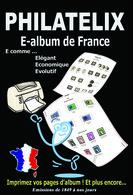 LOGICIEL E-ALBUM DE FRANCE (Imprimez Vos Propres Albums) - Software