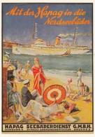 PUBLICITE / RECLAME / ALLEMAGNE / DEUTSCHLAND / CARTE POSTALE D UNE ANCIENNE AFFICHE - Advertising
