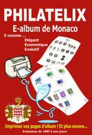 LOGICIEL E-ALBUM DE MONACO (Imprimez Vos Propres Albums) - Software