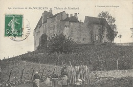 Saint-Pourçain-sur-Sioule - Château De Montfand - Altri Comuni