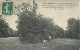 Guines - Forêt De Guines - Intersection De L'ancienne Route De Boulogne Et Du Chemin Vert De Bouquehault - Guines