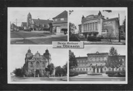 AK 0464  Giessen - Mehrbildkarte Mit Bahnhof / Verlag Metz Um 1940 - Giessen