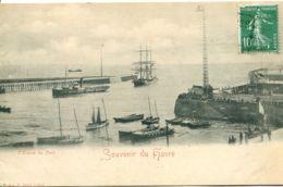 N°71149 -cpa Souvenir Du Havre - Harbour