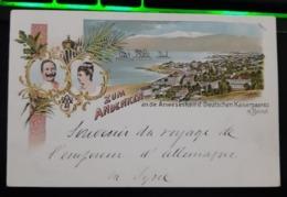 Souvenir De L''Empereur D'Allemagne Lors De Son Voyage à Beyrouth En Syrie. (Kaiserpaares) - Hommes Politiques & Militaires