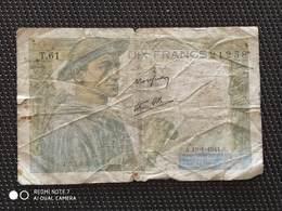 Billet De 10 Francs  Mineur - 10 F 1941-1949 ''Mineur''