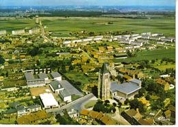 62 Courrières Vers Lens Vue Générale Aérienne En 1994 Château D'eau Grands Immeubles HLM VOIR DOS Flamme - Lens