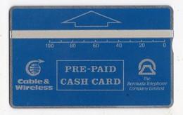 BERMUDES REF MV CARDS BER-L-02F 100U Date 1992 CN 210A 5000 Ex MINT Cote 90€ - Bermuda