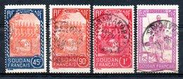 Soudan  Sudan Y&T 71°, 77°, 79°, 80° - Sudan (1894-1902)