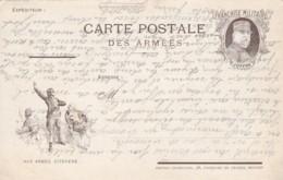 """Carte Postale Des Armées / Franchise Militaire """" JOFFRE"""". - Franchise Militaire (timbres)"""