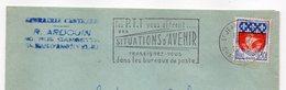 """Flamme Multiple SECAP CHARENTE MARITIME SAINT JEAN D'ANGELY """"Les PTT Vous Offrent Des Situations D'avenir..."""" 1965 - Mechanical Postmarks (Advertisement)"""