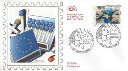 France 3902 Fdc Europa, L'Intégration, Allumettes - 2006