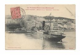 CPA 66 PORT VENDRES Départ De La MEDJERDA Pour ORAN - Port Vendres