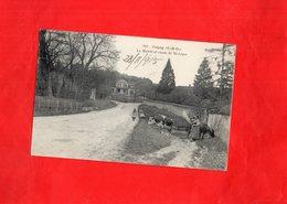 G1604 - POIGNY - D77 - La Mairie Et Route De St Léger - France