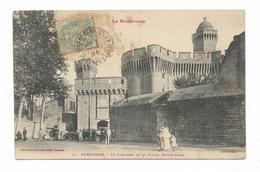 CPA 66 PERPIGNAN Le Castillet Et La Porte Notre Dame - Perpignan