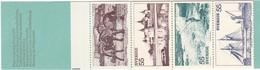 Schweden, 1972, Mi. Nr. 752/56, MH 33,  MNH **, Tourismus - Südschweden. - 1951-80