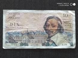 Billet De 10   NF Francs  Richelieu - 1959-1966 Francos Nuevos