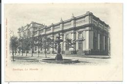 SANTIAGO - Very Old Postcard - La MONEDA N°13 Carlos Brandt 1900 - Chile