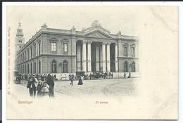 SANTIAGO - Very Old Postcard - El CORREO -  N°3 Carlos Brandt 1900 - Chile