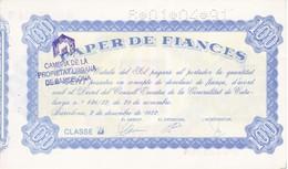 BILLETE DE ESPAÑA DE 100 PTAS DEL AÑO 1982 - GENERALITAT DE CATALUNYA   (BANKNOTE) PAPER DE FIANCES - [ 3] 1936-1975 : Régimen De Franco