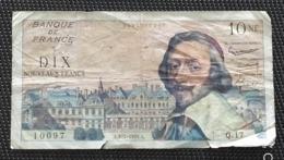 Billet De NF 10 Francs  Richelieu - 1959-1966 Francos Nuevos