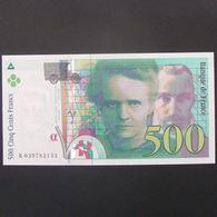 500 Francs Pierre Et Marie Curie 1998, Pr.Neuf - 1992-2000 Last Series