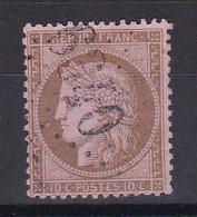 D147 /  LOT CERES N° 58 OBL  COTE 18€ - 1871-1875 Cérès