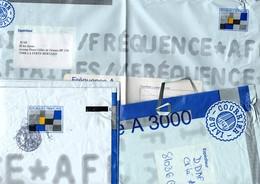 Enveloppe Pochette Plastifiée Fréquence A Avec Timbre Imprimé - 3 Formats Différents : A 500 - A 3000 - A 5000 - Entiers Postaux