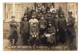 CPA 2871 - MILITARIA - Carte Photo Militaire - Un Groupe De Soldats Du 20 ème Régiment Territorial - Personaggi