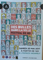 Affiche Festival BD Antony 2017 - Affiches & Offsets
