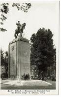 Lille  87 Monument Du Marcéchal Foch - Lille