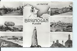 BRIGNOGAN - Carte Multivues REMA - Années 60 - N°5214 - Brignogan-Plage