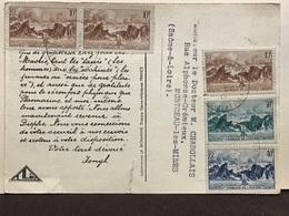 Timnbres Ets Français De L'Oceanie   Palmiers - Cartoline