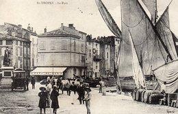C 12828 _ SAINT TROPEZ - 83 - LE PORT - En 1900 -  Circulé - En Trés Bon état - Trés Animée - - Saint-Tropez