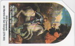 VATICAN - SCV-107 - PARIS BORDON, SAN GIORGIO E IL DRAGO - Vaticaanstad
