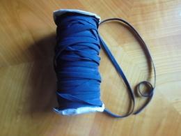 Ancien - Grosse Bobine D'élastique Plat Pour Confection - Other