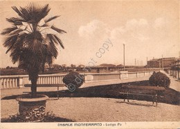 Cartolina Casale Monferrato Lungo Po 1941 - Alessandria