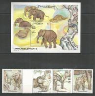 SOMALIA - MNH - Animals - African Elephants - Elefanti