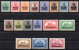 Col17  Colonie Memel N° 1 à 17 Neuf X MH  Cote 85,00€ - Memel (1920-1924)