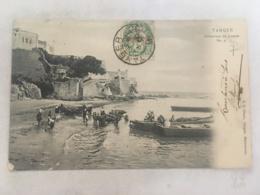 CPA MAROC - TANGER - Embarque De Bueyes - Tanger