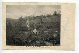 Saint Félix De Reilhac Vue Du Bourg - France