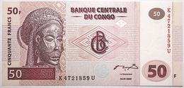 Congo (RD) - 50 Francs - 2000 - PICK 91A - NEUF - Congo