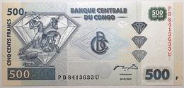 Congo (RD) - 500 Francs - 2002 - PICK 96a - NEUF - Congo