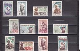 Dahomey Nº 179 Al 190 - Bénin – Dahomey (1960-...)